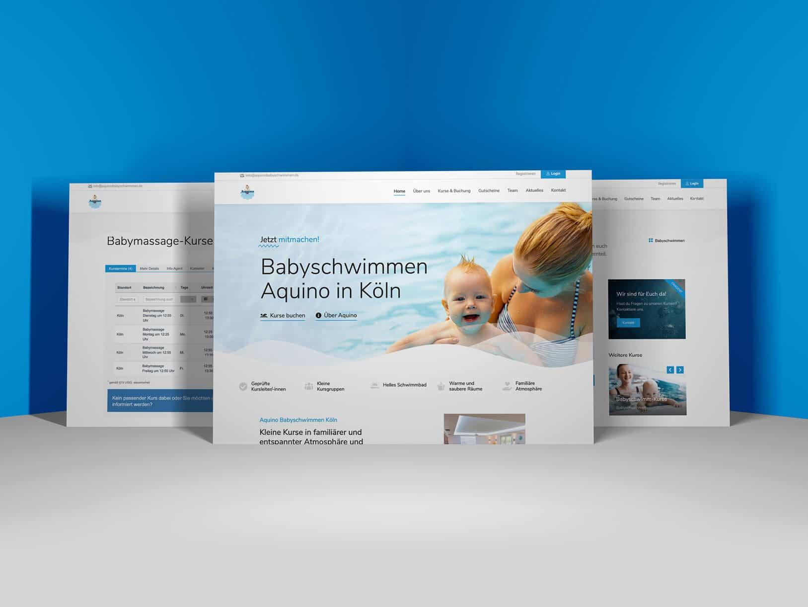 Auqino Projekt Bild von der Website