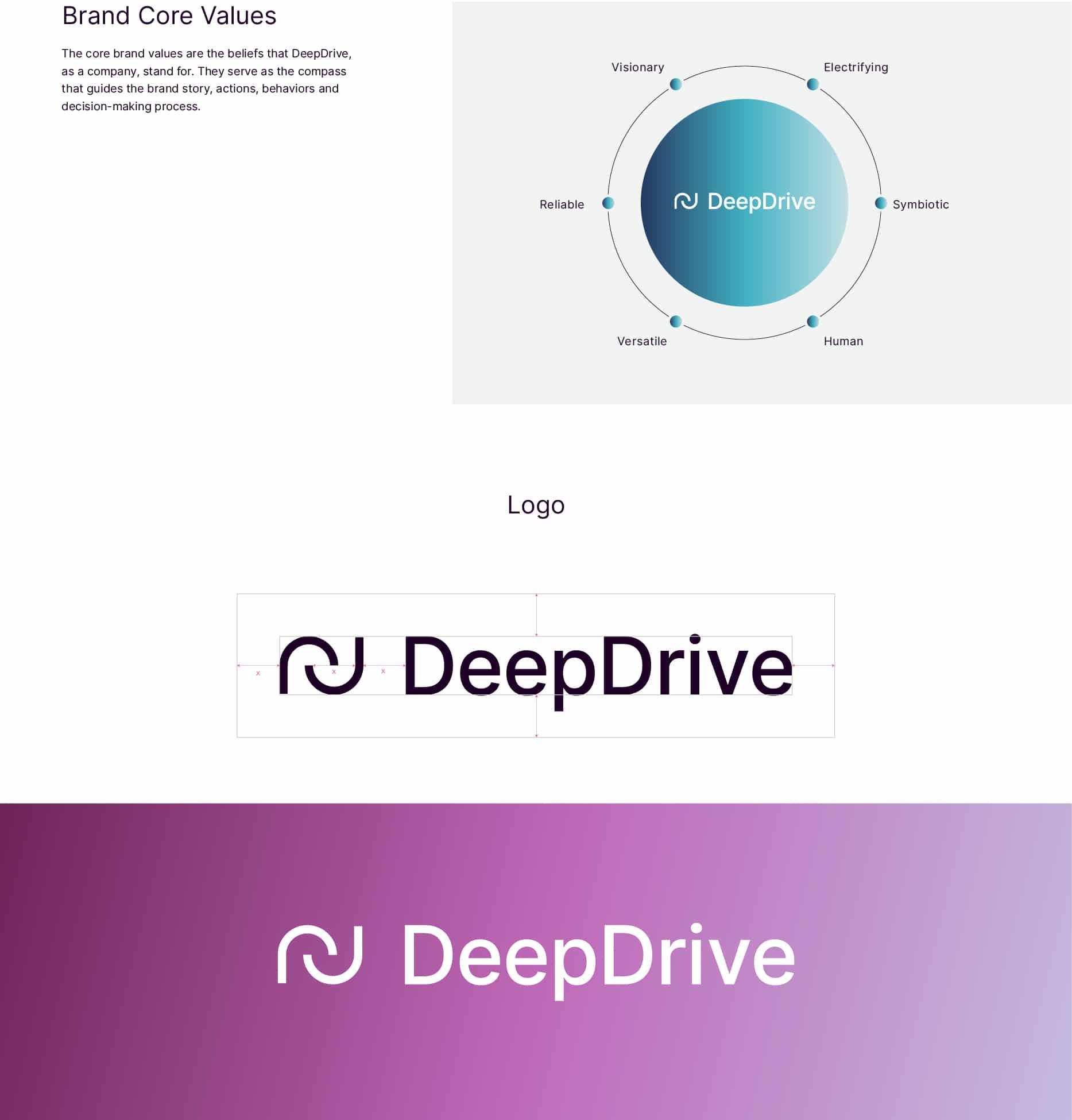 DeepDrive Design Marke Gestaltung